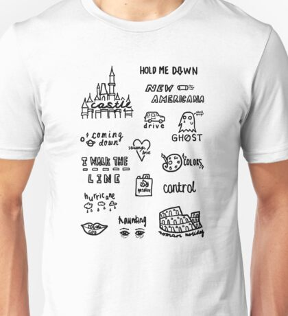 halsey doodles Unisex T-Shirt