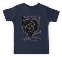 Young girl in a hat Kids Tee