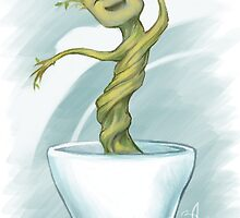 Dancin' Groot by ENVreeland