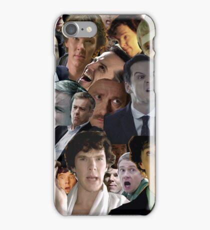 Sherlock Collage iPhone Case/Skin