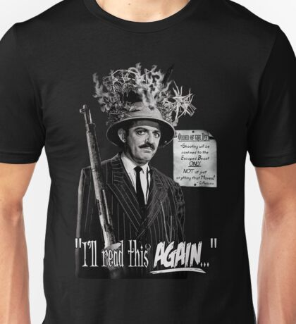 """Gomez Addams-""""Order of the Day"""" Unisex T-Shirt"""