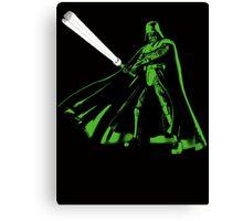 Funny Darth Vader Canvas Print