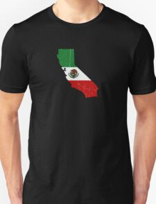 MEXI CALI WEAR - Distressed State T-Shirt