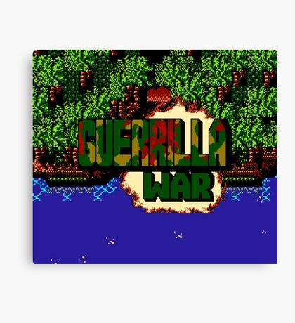 Guerrilla War (NES) Canvas Print