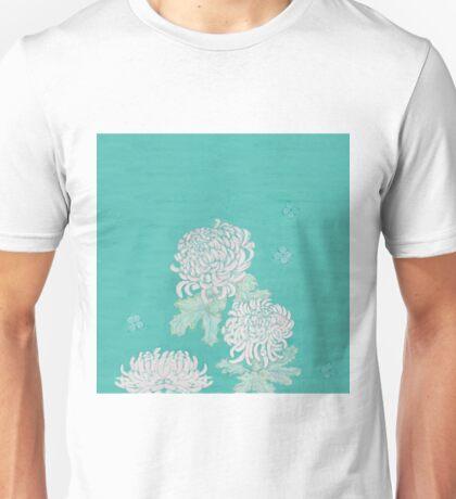 Chrysanthemums and Butterflies Unisex T-Shirt