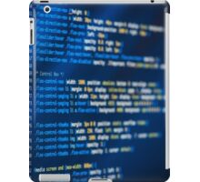 HTML and CSS code developing iPad Case/Skin