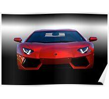 Lamborghini 'Wanna Play Rough?' Poster