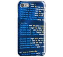 HTML and CSS code developing iPhone Case/Skin