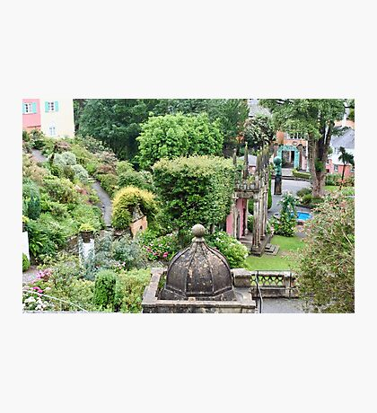 UK - Wales - Portmeirion - Home of the Village in 2007 Photographic Print