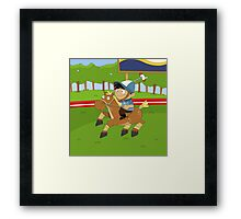 Non Olympic Sports: Polo Framed Print