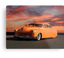 1950 Mercury Custom Sedan Metal Print