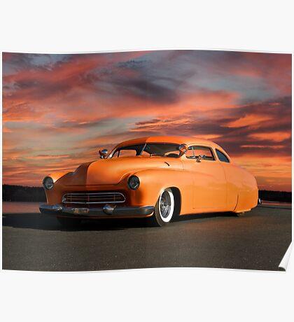 1950 Mercury Custom Sedan Poster