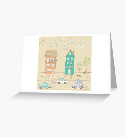 Childs street Greeting Card