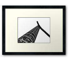 Parque Torres Stairs | #Cartagena # Spain | @ag_exposed Framed Print