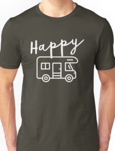 Happy Camper (RV) Unisex T-Shirt