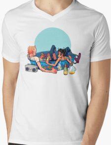 pool party Mens V-Neck T-Shirt