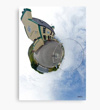 Biddy's House - the Crossroads Pub, Glencolmcille(Sky Out) Canvas Print