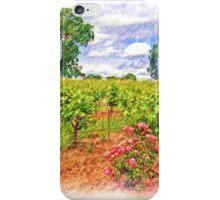 Vineyard Roses iPhone Case/Skin
