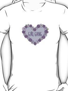 Girl Gang Floral Heart T-Shirt