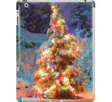 Snowy Christmas Tree iPad Case/Skin