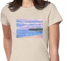 Flagler Beach Pier' Womens Fitted T-Shirt