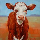 Calf Stare by Margaret Stockdale