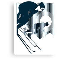 Alpine Skiing Canvas Print