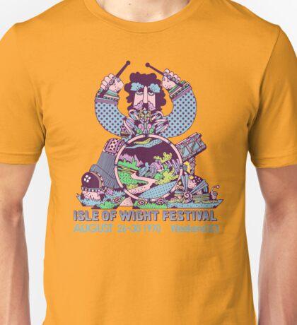 Isle Of Wight Festival 1970 Shirt Unisex T-Shirt