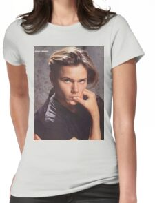 River Phoenix Womens Fitted T-Shirt