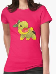pokemon - turtwig Womens Fitted T-Shirt