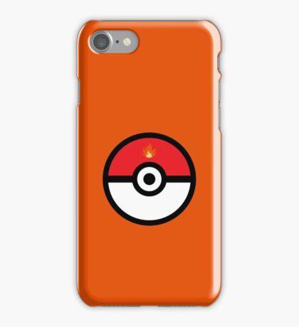 Fire-Type Pokeball iPhone Case/Skin