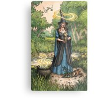 Everyday Witch Tarot - Ace of Cups Metal Print