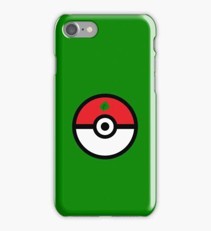 Grass-Type Pokeball iPhone Case/Skin