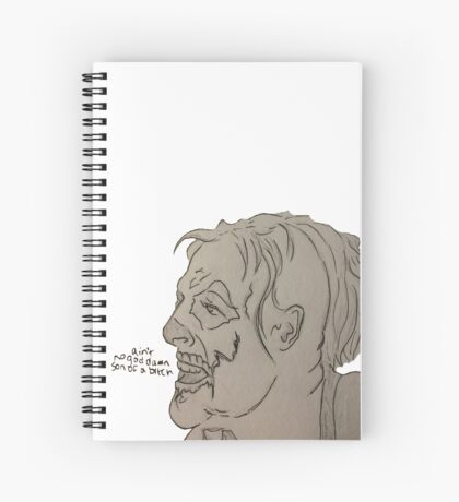 graves Spiral Notebook