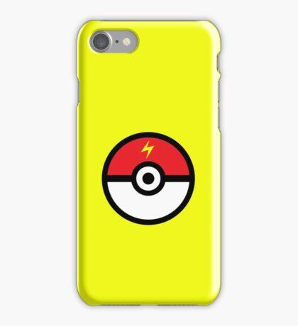 Electric-Type Pokeball iPhone Case/Skin
