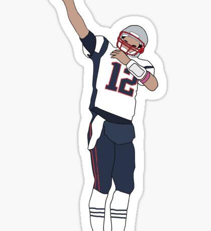Tom Brady 1st Down Sticker