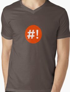 Shebang I Mens V-Neck T-Shirt