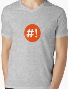 Shebang I Mens V-Neck T-Shirt