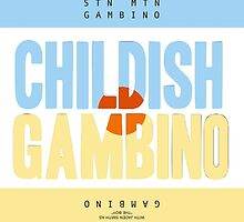 Childish Gambino Cover Design by Louis Malouf