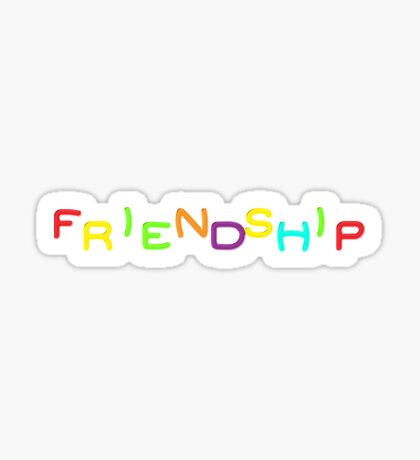 Friendship - Mortal Kombat 2 Sticker