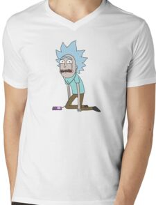 Rick & Morty Mens V-Neck T-Shirt