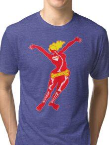 Heartbone - neon Tri-blend T-Shirt