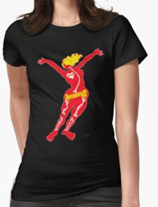 Heartbone - neon Womens Fitted T-Shirt