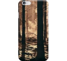 The Glow Of A Forest Dawn iPhone Case/Skin