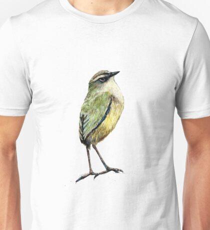 Mr Tuke, Rock wren bird of New Zealand Unisex T-Shirt