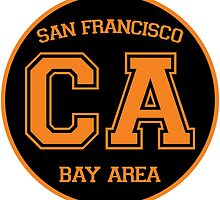 San Francisco California Bay Area CA by LGdesigns