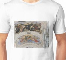 St Thomas the Apostle church, Prague, Czech Republic, frescoes Unisex T-Shirt