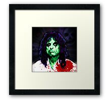 ALICE HAVE A HAPPY HALLOWEEN Framed Print