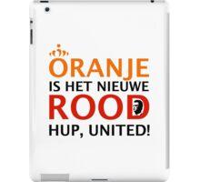 Oranje is het Nieuwe Rood iPad Case/Skin