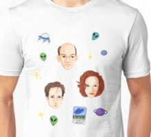 X Files - FBI Agents Unisex T-Shirt
